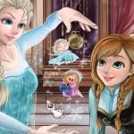 Frozen Elsa – Sisters puzzle