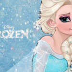 Frozen Elsa Illustration